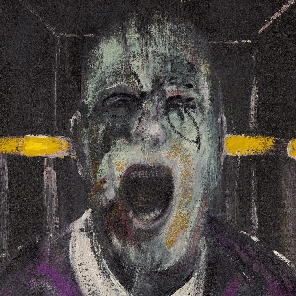 Pape hurlant Francis Bacon