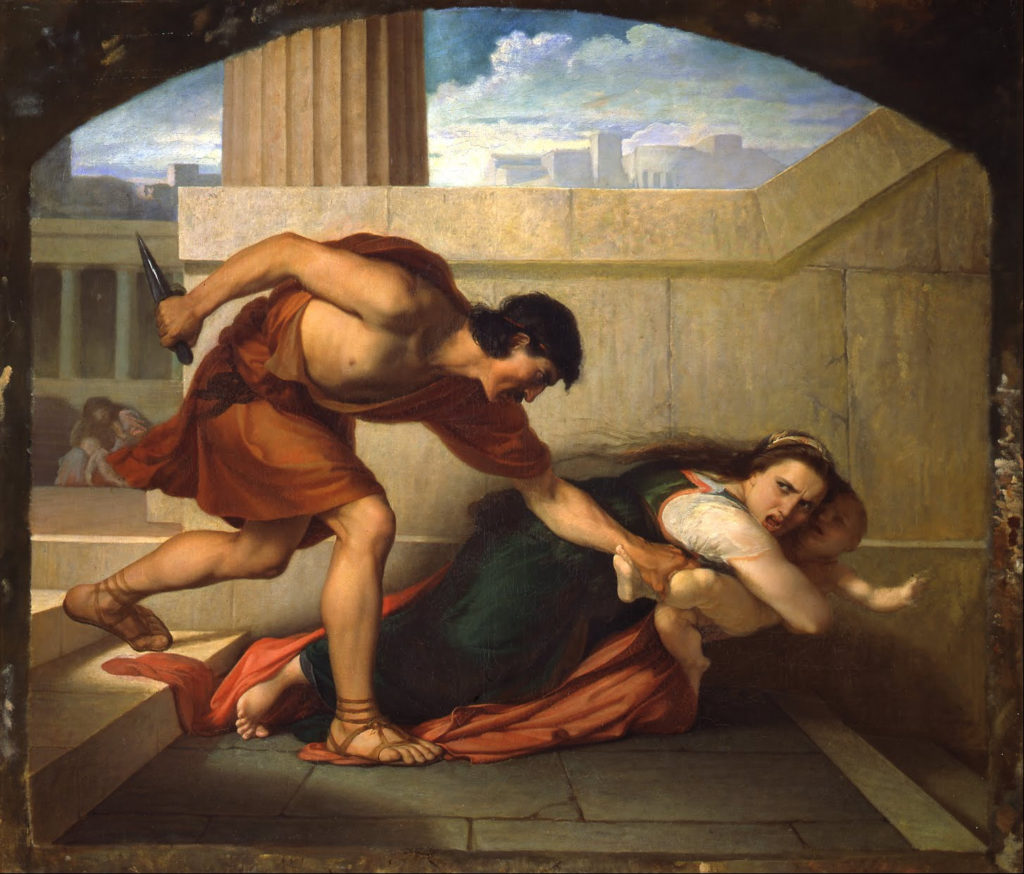 Angelo Visconti The Massacre Of The Innocents